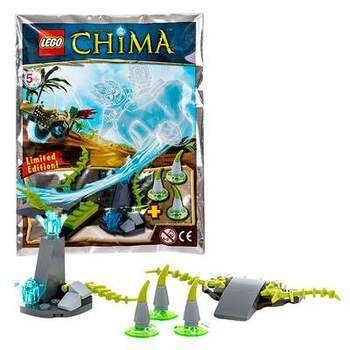 LEGO Legends Of Chima 391402 Конструктор ЛЕГО Легенды Чимы Рампа для прыжков