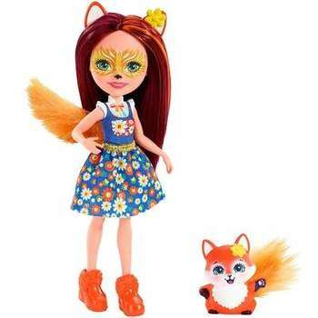 Mattel Enchantimals FXM71 Кукла с питомцем Лисичка Фелисити
